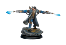 Cygnar Epic Captain Allister Caine